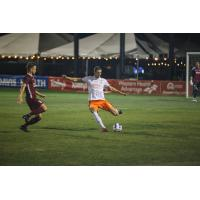 Sacramento Republic FC forward Christian Eissele vs. the Swope Park Rangers