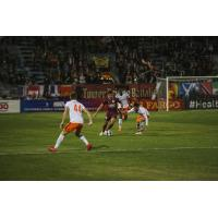 Sacramento Republic FC controls possession vs. the Swope Park Rangers