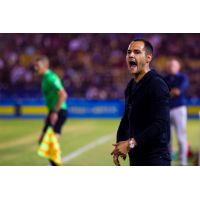 Las Vegas Lights FC head coach Isidro Sanchez