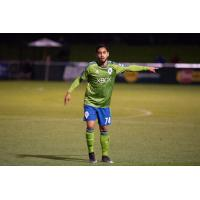 Sounders FC 2 midfielder David Estrada