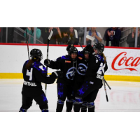 Minnesota Whitecaps celebrate a goal