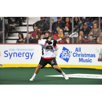 Forward Holden Cattoni with the Calgary Roughnecks