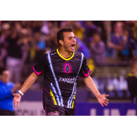 Las Vegas Lights FC's Sammy Ochoa celebrates a goal