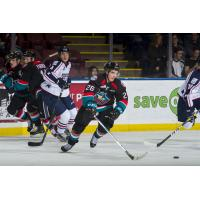Kelowna Rockets RW Liam Kindree vs. the Tri-City Americans