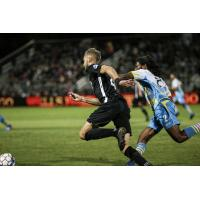 Sacramento Republic FC races after the ball vs. Las Vegas Lights FC