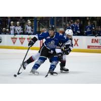 Vancouver Giants battle the Victoria Royals