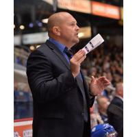 Sudbury Wolves head coach Cory Stillman