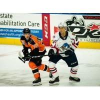Lehigh Valley Phantoms forward David Kase against the Springfield Falcons