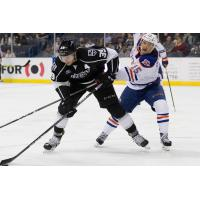 Forward Justin Auger with the Ontario Reign