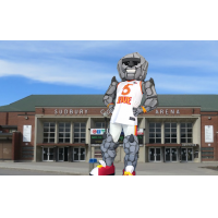 Rock Monster, the Sudbury Five mascot