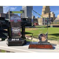 Memphis Redbirds' PCL and National Championship Trophies