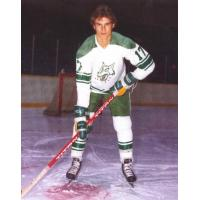 Mike Foligno with the Sudbury Wolves