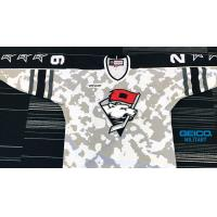 Charlotte Checkers Military Appreciation jersey