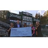 Pulaski Yankees Donate to LewisGale Regional Cancer Center