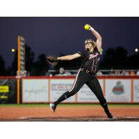 Chicago Bandits left-handed pitcher Paige Lowary