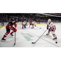 Binghamton Devils vs. the Bridgeport Sound Tigers