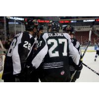 Utah Grizzlies during road win at Wichita