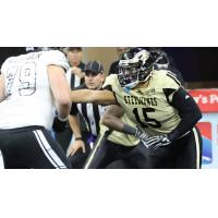 DL Rafael Lamas with the Lehigh Valley Steelhawks