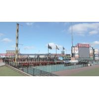 Red Wings new left field seating venue