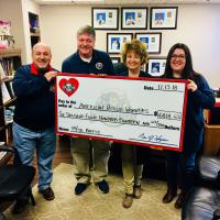 Williamsport Crosscutters & NYPL Donate to American Rescue Workers
