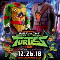 Cleveland Monsters Teenage Mutant Ninja Turtles and Foot-Clan jerseys