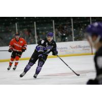 Khristian Acosta of the Tri-City Storm
