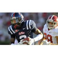 Defensive back Nickolas Brassell with the University of Mississippi
