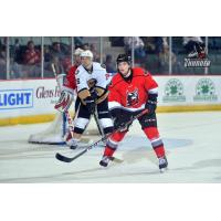 Adirondack Thunder defenseman Jake Linhart