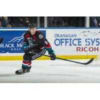 Jack Cowell with the Kelowna Rockets