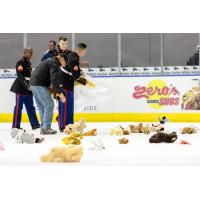 Norfolk Admirals' Teddy Bear Toss