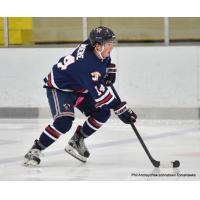 Carson Briere of the Johnstown Tomahawks