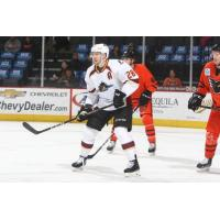 Cleveland Monsters center Zac Dalpe vs. the Lehigh Valley Phantoms