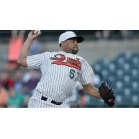 Francisco Rodriguez with the Long Island Ducks