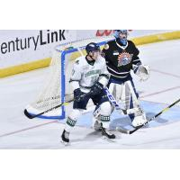 Florida Everblades forward Zach Nastasiuk vs. the Orlando Solar Bears