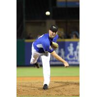 Pitcher Matt Sergey with the Sugar Land Skeeters