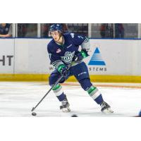 Defenceman Reece Harsch with the Seattle Thunderbirds