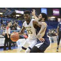 Halifax Hurricanes defend against the Saint John Riptide