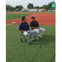 Duluth Huskies Head Coach Tyger Pederson and new Hitting Coach Stu Pederson