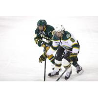 Forward Alec Butcher with the University of Alaska-Anchorage