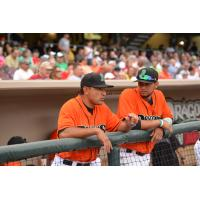 Dayton Dragons Manager Luis Bolivar
