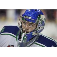 Swift Current Broncos goaltender Joel Hofer