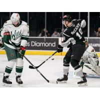 Mackenzie MacEachern of the San Antonio Rampage against the Iowa Wild