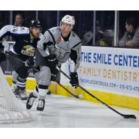 Mackenzie MacEachern of the San Antonio Rampage against the Colorado Eagles