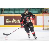 Prince George Cougars defenceman Shane Collins