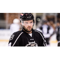 Forward Michael Doherty with the Manchester Monarchs