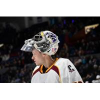 Cleveland Monsters goaltender Brad Thiessen