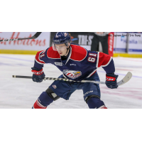 Saginaw Spirit center Ryan McLeod