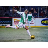 Dallas Sidekicks forward Jamie Lovegrove