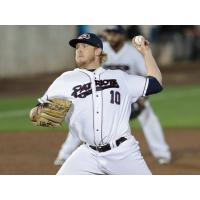 Somerset Patriots pitcher Mike Antonini
