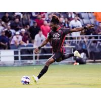 Omar Gordon with San Antonio FC